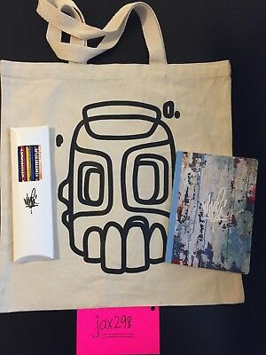 Mike Shinoda VIP Tour Bag, Book, Pencils Linkin Park Fort Minor