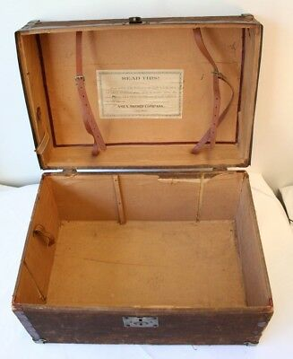 Ames Sword Company Uniform Box Alleghany Company No. 1 U.A.M. Cumberland, MD