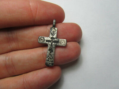 Silver cross 17-18th century  Metal detector finds №475 100% original