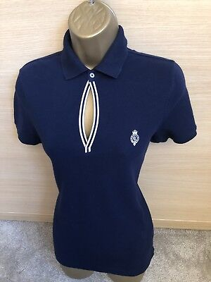 POLO RALPH LAUREN Exquisite Sock Stripe Navy Rice Cotton 1p pk Crew ... 605fa66a456b