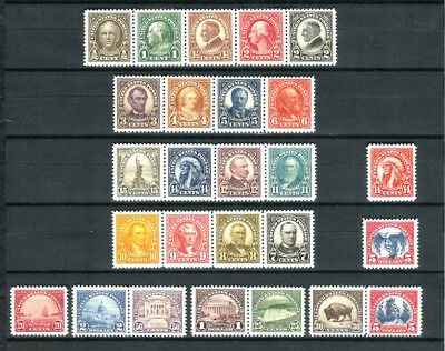 US 1922-1925   stamps collection