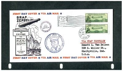 Graf Zeppelin  first day cover