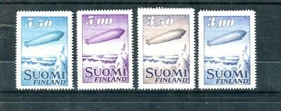 Stamps of Finland  Airmail Stamps  Zeppelin