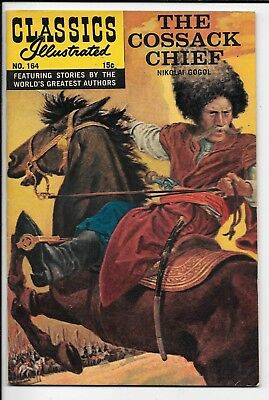 Classics Illustrated #164 HRN 164 The Cossack Chief by Gogol 1961 FN+ Gilberton