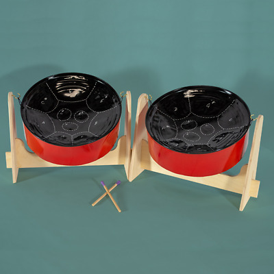 Mini Double Steel Pan Drum - SALE!!! - Lowest Price!!! Painted Finish. DRUM ONLY