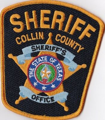Collin County Police Texas TX Police Patch