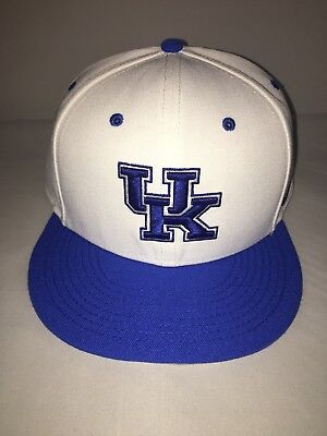 ea148cdf1ac NIKE TRUE PERFORMANCE Dri-Fit UK Kentucky Wildcats Hat Fitted White ...