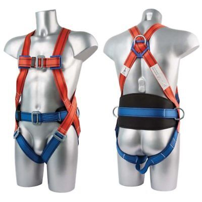 PORTWEST FP14 red ergonomic comfort 2 point safety harness
