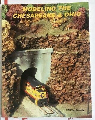 Modeling The Chesapeake and Ohio C&O Chessie System Railroad HO Scale Book New