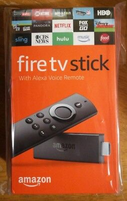 Amazon Fire TV Stick Alexa Voice Remote 2nd Generation 2017 Brand New ! Sealed !