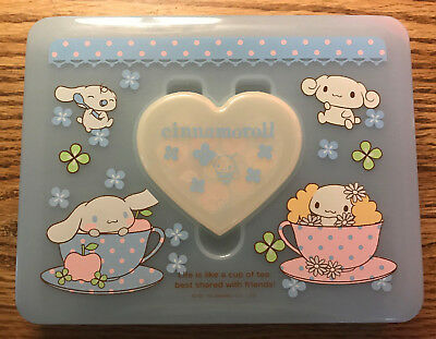 Cinnamoroll Baby Blue Plastic Letter Box with Small Heart Box and Stickers