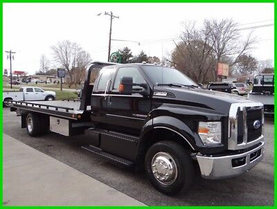 2017 Ford F650 Flatbed/rollback, Extra Cab, 1 Owner Southern Truck!!