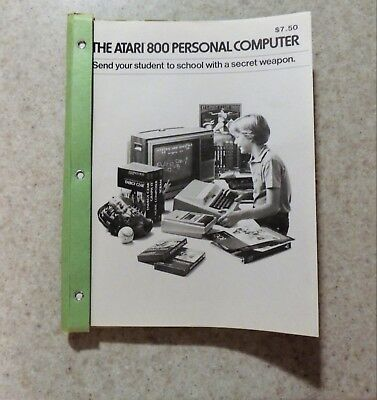 Atari 800 - List of Programs Available - 100+ pages with prices - FREE SHIPPING!