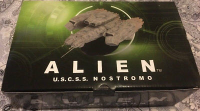 Eaglemoss Alien Collection USCSS Nostromo Ship ~ Limited Edition ~ 3000 Made