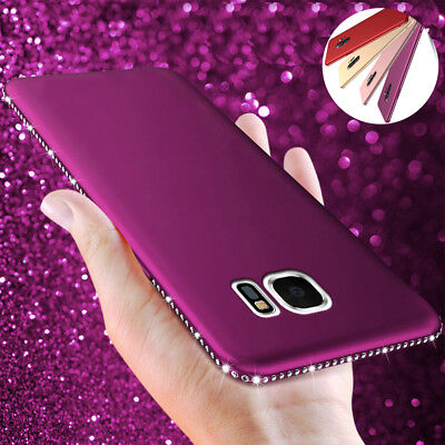Shockproof Soft Slim Diamond Bling Case Cover For Samsung Galaxy A7 2018 J6 Plus