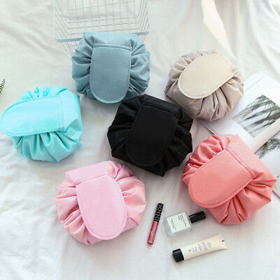 Portability Magic Travel Pouch Cosmetic Bag Makeup Bags Storage Pouch Drawstring