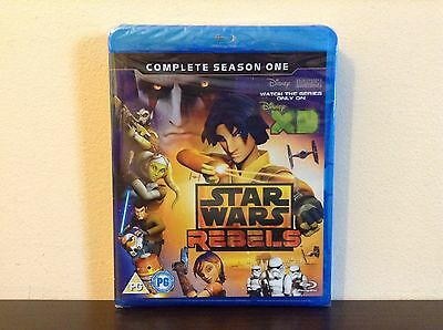 Star Wars Rebels - the complete season 1 [Blu-ray] *NEW*