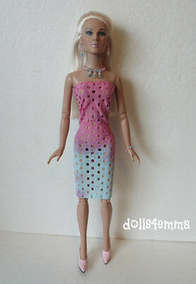 "Tonner TYLER Sydney 16"" size clothes Handmade DRESS & JEWELRY Fashion NO DOLL"