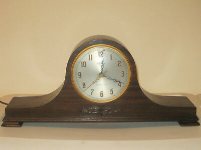 Vintage Revere Electric Clock Telechron Motored & Westminster Chime WORKS