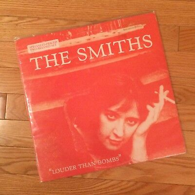 The Smiths Louder Than Bombs Promo Copy 1987 Vinyl LP Record Original Pressing