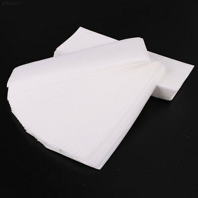 712E 100Pcs Wax Strips Depilatory Papers Leg Body Hair Removal Nonwoven Cloth*