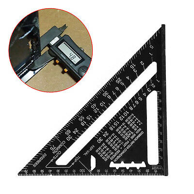 Metric System Speed Square Rafter Protractor Miter Angle Square Triangle Ruler