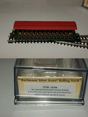 Bachmann N Gauge Silver Series Passenger Carriages