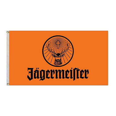 Jagermeister Giant Large Flag Size 3X5Feet banner