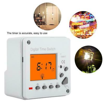 Digital Electric Programmable Smart Control Switch Timer w/ Backlight Display