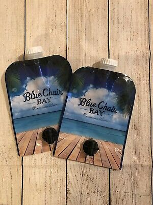 Blue Chair Bay Rum Drink Pouch Kenny Chesney 🎁 Island Life 🔥NEW