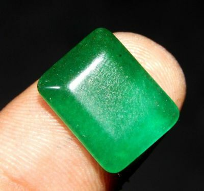 100% Natural Faceted Beryl Emerald A++ Loose Gemstone 7 ct 15x12 mm F22