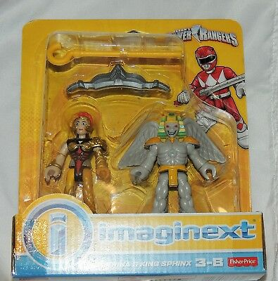 NEW Fisher Price Imaginext Power Rangers 2 Pack Scorpina King Sphinx Mighty