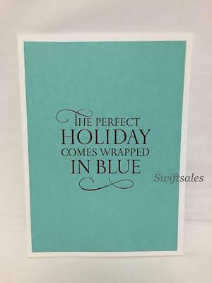 TIFFANY & Co Catalog Book - Perfect Holiday Comes Wrapped In Blue 2014 - New