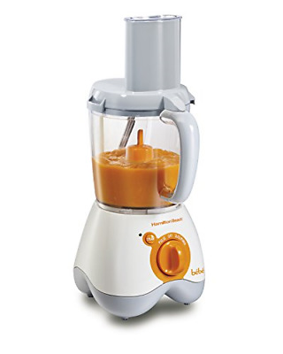 Hamilton Beach 36533 Bebe Baby Food Maker, 5 Cup Food Processor with 10 Food and