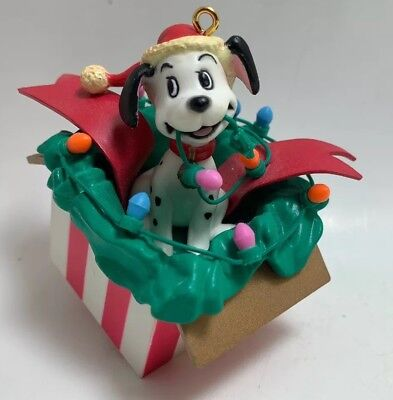 Disney Original Authentic 101 Dalmation Christmas Ornament Figure 3 inch