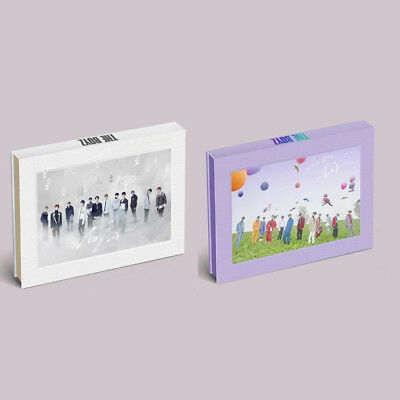 THE BOYZ - THE ONLY [Random of No Air, In the Air ] CD+Photocards+Sticker