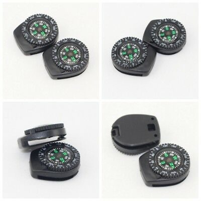 Portable Clip-on Navigation Wrist Watch Compass Outdoor Survival Camping Hiking