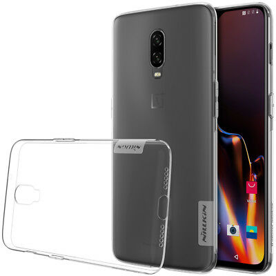 Nillkin Nature Transparent Clear Soft silicone TPU Cover Case For Oneplus 6T