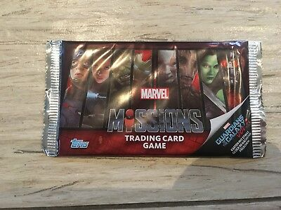 Marvel Missions Reading Card Game Sammelkarten Guardians Of The Galaxy Vol. 2