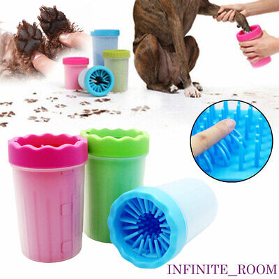 Pet Paw Plunger Mud Cleaner Washer Mudbuster Dog Cat Pet Paw Cleaner Portable