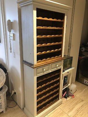 Wooden Wine Rack/Country Style