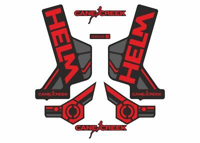 Cane Creek Helm Forks Suspension Factory Decals Stickers Adhesive Lime Green