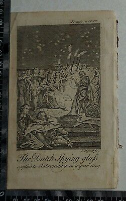 1776 Pluche - Engraving of The Frontispiece to 'Spectacle of Nature'