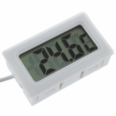 Aquarium Lcd Digital Thermometer White £2.29 24Hr Dispatch From The U.k.