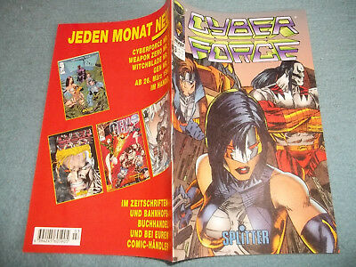 Cyber Force***comic***heft***nr.3