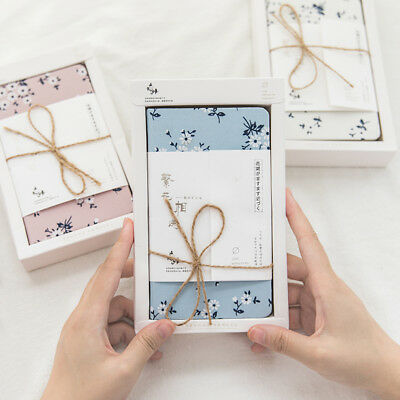 """""""Flower Chat"""" 1pc Hard Cover Diary Cute Notebook Journal Pocket Notebook Memo"""
