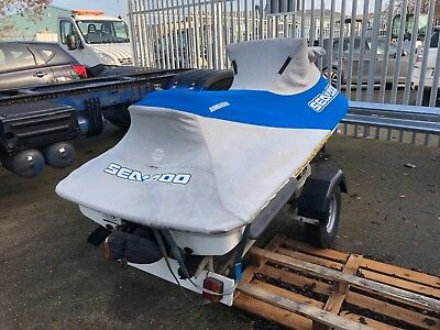 Seadoo GTI 720cc spares repairs no reserve with tailer