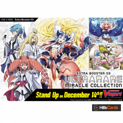 Cardfight Vanguard: Ultra Rare Miracle Collection V-EB03 Booster Box of 12 Packs