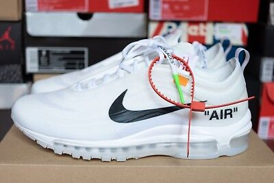 a6d51edabf35f Nike Air Max 97 Off White The Ten 2017 Virgil Abloh Size Us10 Uk9 With  Recipt
