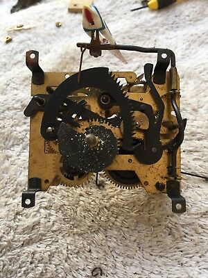 Bachmaier & Klemmer Black Forest Cuckoo Clock Movement With Bird